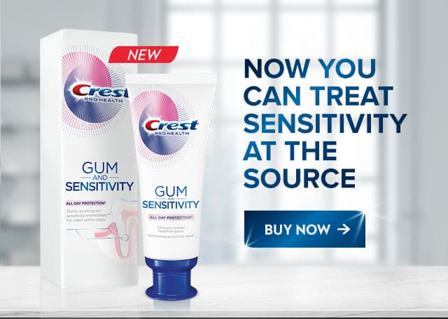 Crest Gum and Sensitivity All Day Protection Toothpaste