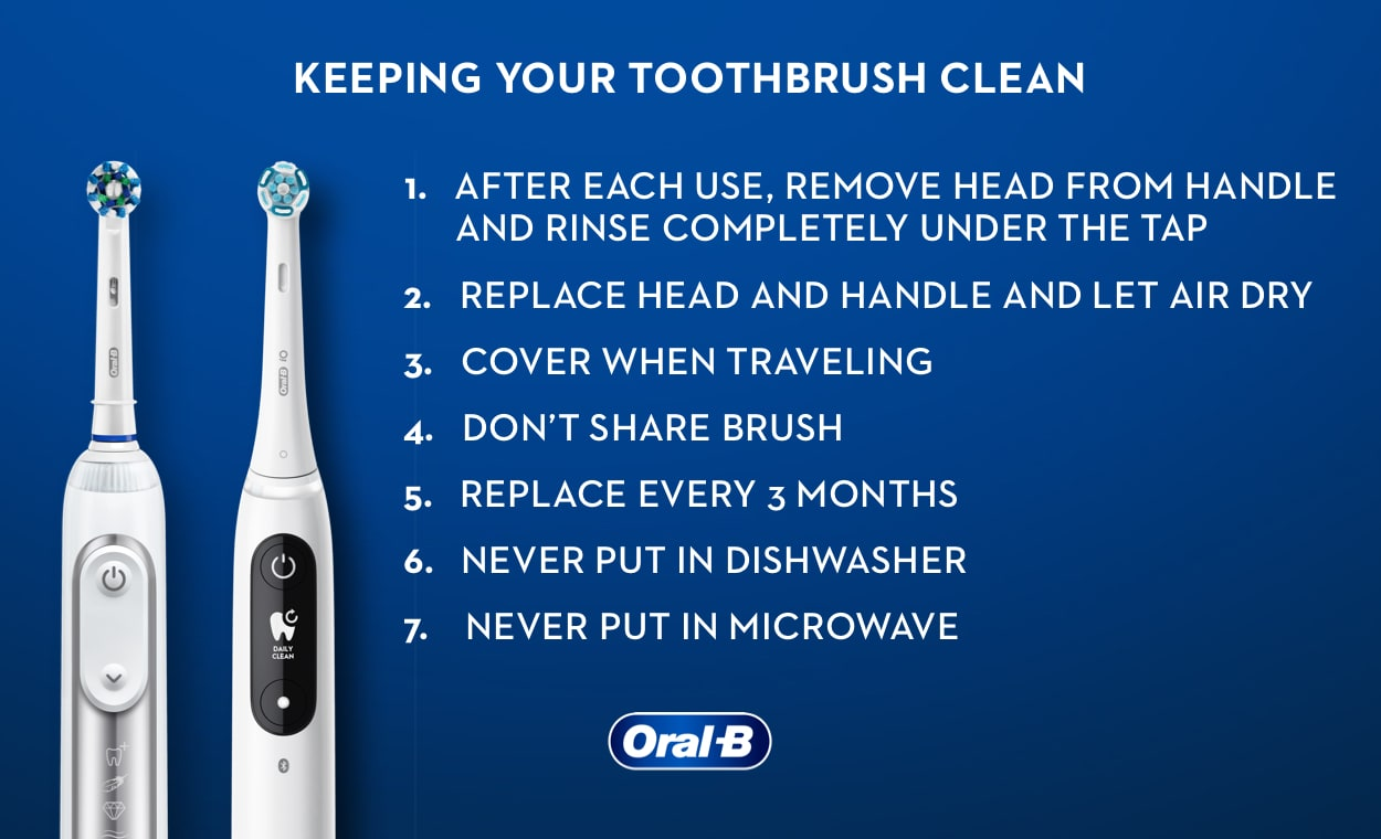 How to Clean Your Electric Toothbrush